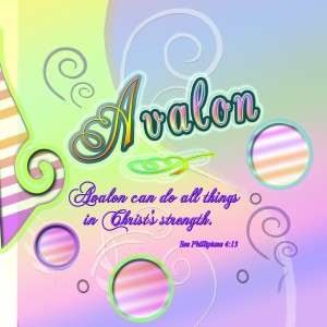 Avalon Verse circle